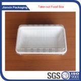 Пластичный контейнер еды подноса для плодоовощей или мяса или овощей