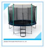 Trampoline ao ar livre de 10FT com segurança Enclosure09