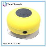 Ipx4 impermeabilizan el altavoz de la ducha del silicón del altavoz de Bluetooth construido en el micrófono (STD-W05)