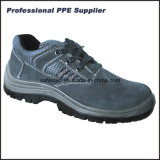 Zapatos de trabajo de doble densidad de la seguridad de la inyección de la PU