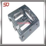 Parti di macinazione di CNC dell'alluminio anodizzate il nero di precisione