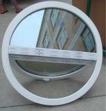 Aluminiumrahmen-Lichtbogen-Fenster auf dem Puder beschichtet
