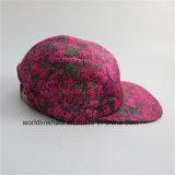 Chapéu feito sob encomenda do painel do espaço em branco 5 da venda por atacado do Sublimation da tintura