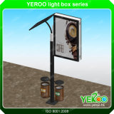 Lampadaire de rue Lampe publicitaire Lampstandard Lightbox Display