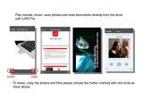 Zacht pvc USB Flash Drive voor OTG Mobile Phone