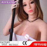 jouet sexy réaliste de peau de 165cm de silicones de poupées blanches réelles de sexe