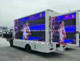 Diodo emissor de luz ao ar livre da alta qualidade das rodas de Dongfeng 6 que anuncia o caminhão
