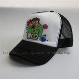 Fördernde Schaumgummi-Ineinander greifen-Rückseiten-Baseballmütze mit gedrucktem Firmenzeichen