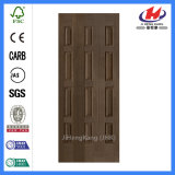 Peau en bambou en bois moulée de porte de placage (JHK-013)