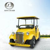 12 Seaters 전기 고전적인 손수레 골프 차