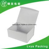Rectángulo plegable de empaquetado del papel del regalo de la maneta de la cinta que lleva