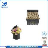 Popular extrafino hecho en rectángulo de regalo de la flor de China