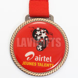 顧客用装飾的な浮彫りにされた亜鉛合金のバレエによって刻まれるスポーツの装飾的な記念品の金属の鋳造メダルMedallio