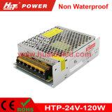 alimentazione elettrica di 24V5a LED/lampada/banda a tubo/flessibile non impermeabile