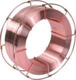 固められた溶接用フラックスは鋼鉄構造製造については及び溶接ワイヤを見た