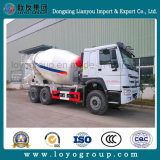 De Vrachtwagen van het Cement van de Pomp van de Concrete Mixer van Sinotruk HOWO 6X4 371HP 10m3