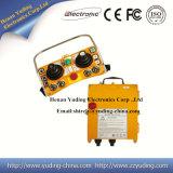 Unité à télécommande sans fil F24-60, radio duelle industrielle F24-60 à télécommande de manche