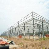 조립식 강철 구조물 창고가 중국 공급자에 의하여 가벼운 계기 직류 전기를 통했다