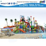 Diapositiva del parque del agua del vidrio de fibra de la alta calidad para la venta (HD-6201)