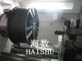 Borde que repara, superficie Ploishing, torno de la rueda de coche de la rueda de coche del CNC