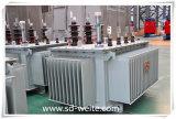 中国の完全シーリングOil-Immersedタイプ無定形の合金の分布の電源変圧器