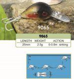 le prix bon marché de la première usine de 25mm --- Crankbait de pêche en plastique dur fait sur commande fait par qualité - Wobbler - attrait de pêche de Popper de cyprins