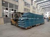 Il tetto ondulato di colore della vetroresina del comitato di FRP/di vetro di fibra riveste C172007 di pannelli