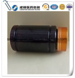 100ml de donkere Bruine Flessen van het Huisdier van de Geneeskunde Plastic