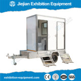 Cuarto de baño transportable de los acoplados temporales del lavabo
