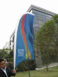 Praia Flag para Outdoor Advertizing