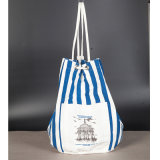 中国のカスタム白い昇進の再使用可能な綿のショッピング・バッグ