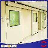 Porte de pièce propre d'hôpital, double porte de pièce propre pour pharmaceutique
