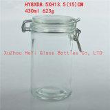 430mlガラス記憶の瓶キャンデーのガラスシールの瓶