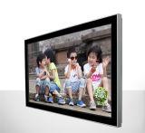 75 pulgadas que hacen publicidad del quiosco montado en la pared del monitor de la pantalla táctil del indicador digital del panel del LCD
