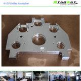 Peças fazendo à máquina do CNC da elevada precisão no material de alumínio