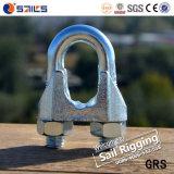 clip placcata zinco della fune metallica della ghisa malleabile DIN741 di 22mm