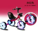 유아를 위한 극단적인 번쩍이는 바퀴 세발자전거 뚱뚱한 타이어 아기 세발자전거