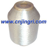 Silver puro Metallic Yarn con Cotton Core
