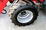 Carregadores usados da roda da maquinaria de exploração agrícola