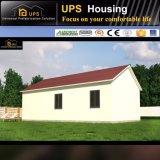 Превосходный пожаробезопасный панельный дом стальной структуры с украшениями