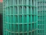 高品質の低価格の緑PVCによって溶接される金網