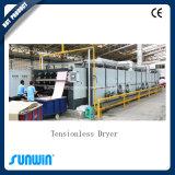 Kontinuierliches Textilentspannung-trocknender Raffineur