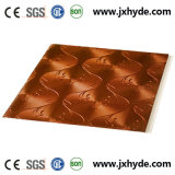 Panneau stratifié de PVC de matériaux de construction et panneau de plafond de PVC 250*8mm
