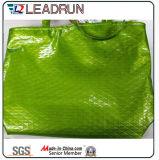 Rucksack-nichtgewebte Einkaufstasche-Leder-Baumwollsegeltuch-HandEinkaufstasche (X0738)