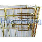 Faltender galvanisierter Maschendraht-Behälter für Haustier-Vorformlinge