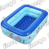 Slideの膨脹可能なKids Amusement Swimming Water Pool