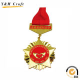 名誉Ym1174のための旧式なブリキ板カスタムメダル