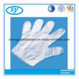 Перчатки PE высокого качества прозрачные устранимые пластичные