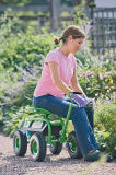 Gardenersのための圧延の庭Deluxe Tractor Scoot