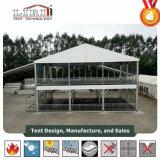 шатер структуры этажа шатра 2 двойного Decker 15X10m для случая